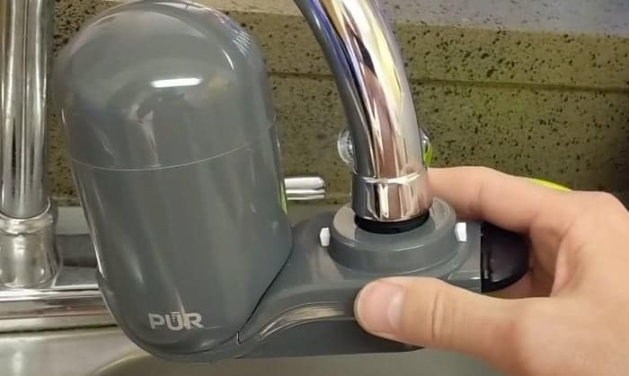 How to Clean PUR Water Filter Faucet Mount
