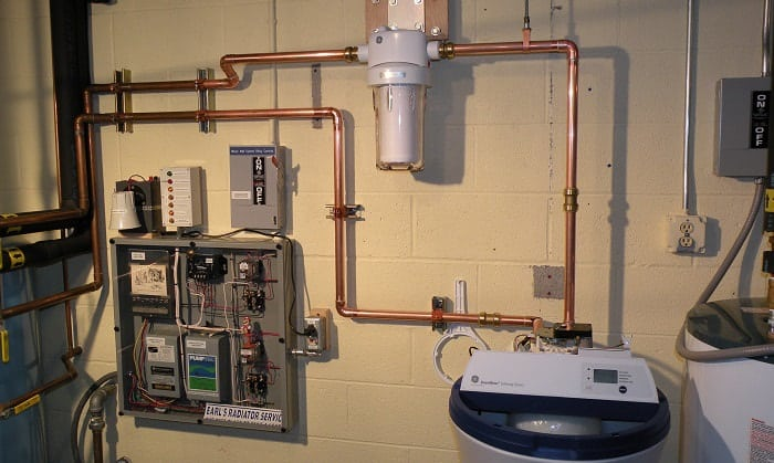 how to change water softener filter