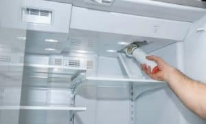 how to clean a refrigerator water filter