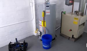 how to install a gas water heater